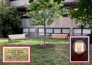 George Bramhall Memorial at Fox Chase Cancer Center