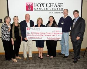 2015 Donation Check Presentation