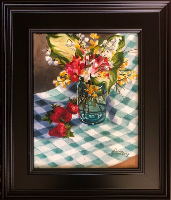 "Diane Greenberg's ""Jar of Flowers"""