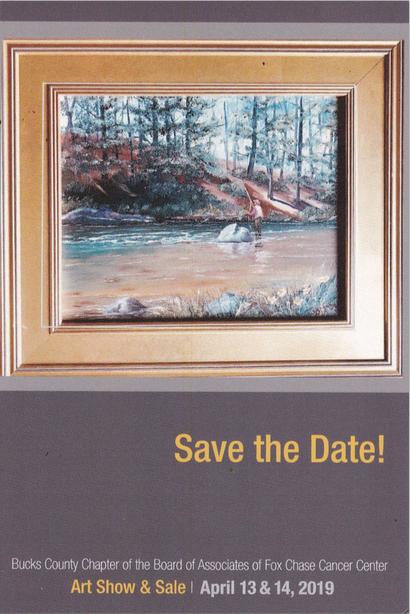 George Bramhall Art Show