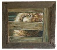"Deb Hoeffner, entitled ""Behind The Fence"""
