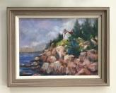 """Anne Whalon's """"The Bass Harbor Head Lighthouse"""".jpeg"""