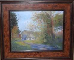 """Sandy Askey-Adams'""""Bucks County Barn"""""""